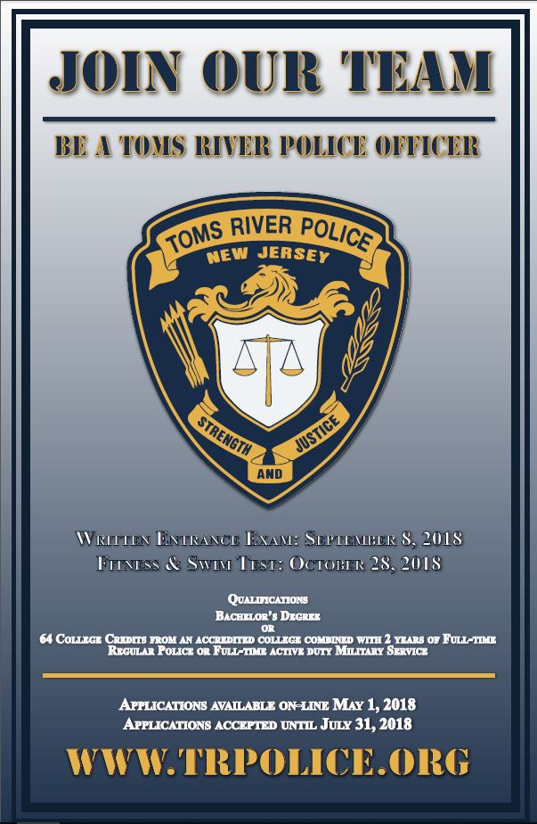 Toms River Police Recruitment