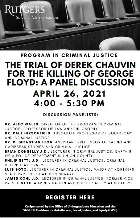 Trial of Derek Chauvin for the Killing of George Floyd